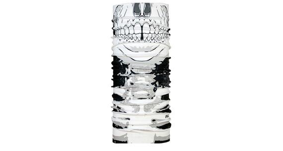 P.A.C. Facemask vit/svart